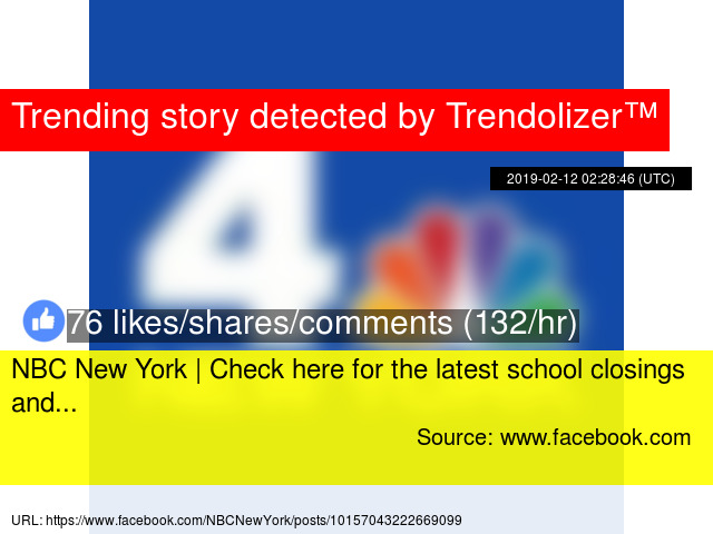 NBC New York | Check here for the latest school closings and