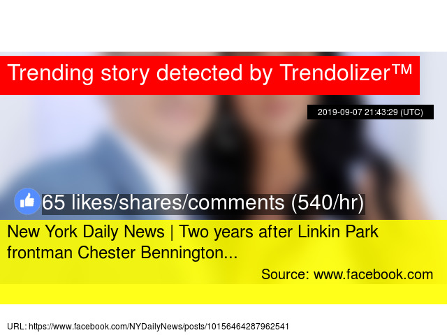 New York Daily News | Two years after Linkin Park frontman